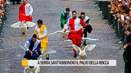 A Serra Sant'Abbondio il Palio della Rocca – VIDEO