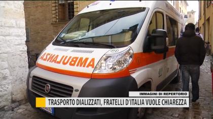 Trasporto dializzati, Fratelli d'Italia vuole chiarezza – VIDEO