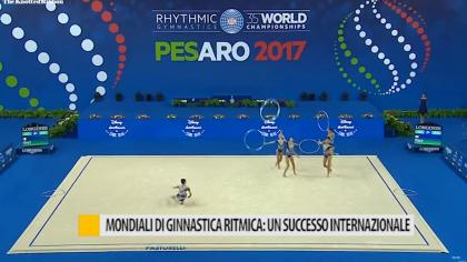 Mondiali di ginnastica ritmica: un successo internazionale – VIDEO