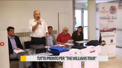"""Tutto pronto per """"The Williams Tour"""" il 22 si parte da Genova – VIDEO"""