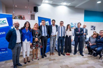 Banca di Credito Cooperativo di Fano. Inaugurata nuova agenzia di Marotta – VIDEO