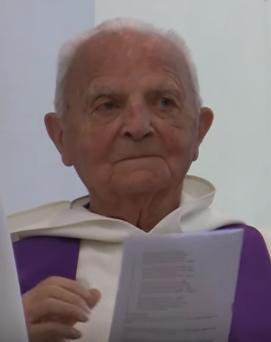 Addio a Padre Colombano, monaco morto a 103 anni – VIDEO