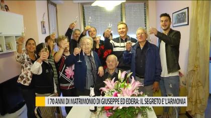I 70 anni di matrimonio di Giuseppe ed Edera, il segreto e l'armonia – VIDEO