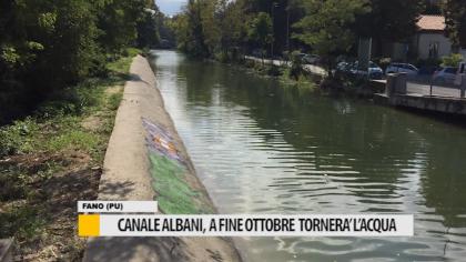 Canale Albani, a fine mese tornerà l'acqua – VIDEO