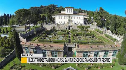 Il centrodestra denuncia su sanità e scuole: Fano suddita di Pesaro – VIDEO