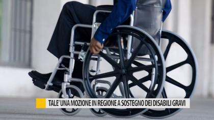 Talè, una mozione in regione a sostegno dei disabili gravi – VIDEO