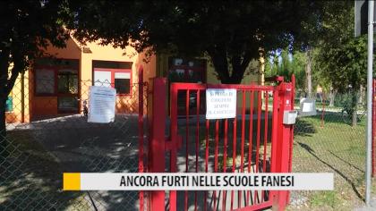 Ancora furti nelle scuole fanesi – VIDEO