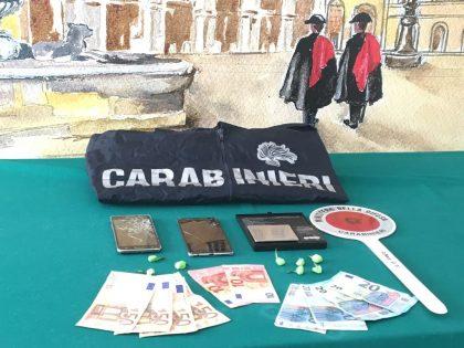 Spaccio, i Carabinieri arrestano pusher al Pincio di Fano