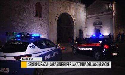 Seri ringrazia i Carabinieri per la cattura dell'aggressore – VIDEO