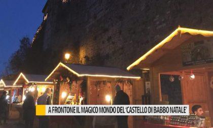 """A Frontone il magico mondo del """"Castello di Babbo Natale"""" – VIDEO"""