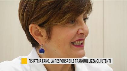 Fisiatria Fano, la responsabile tranquillizza gli utenti – VIDEO