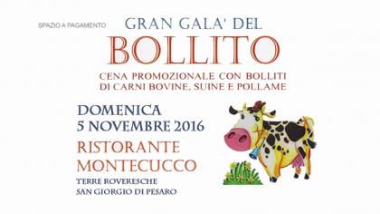 Gran Galà del Bollito – Ristorante Montecucco (5 novembre 2017)
