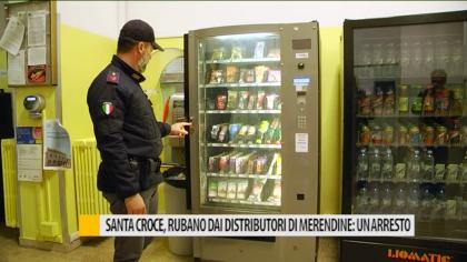 Ospedale S.Croce, furti di contante nei distributori automatici. Un arresto – VIDEO