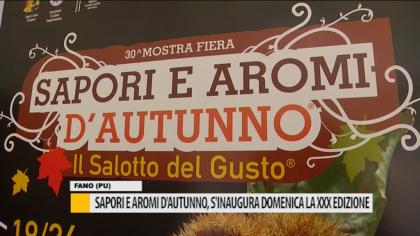 """""""Sapori e aromi d'autunno"""", s'inaugura domenica la XXX edizione – VIDEO"""