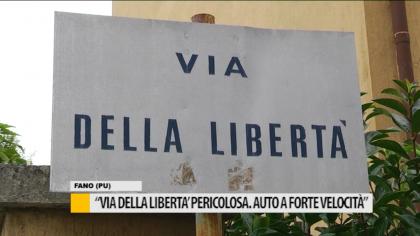 """""""Via della Libertà pericolosa. Auto a forte velocità"""" – VIDEO"""