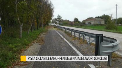 Pista ciclabile Fano-Fenile: a natale lavori conclusi – VIDEO