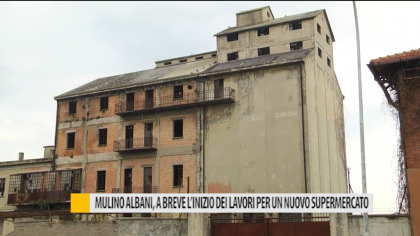 Mulino Albani, a breve l'inizio dei lavori per un nuovo supermercato – VIDEO