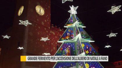 Fano, grande fermento per l'accensione dell'Albero: domenica 3 dicembre l'inaugurazione – VIDEO