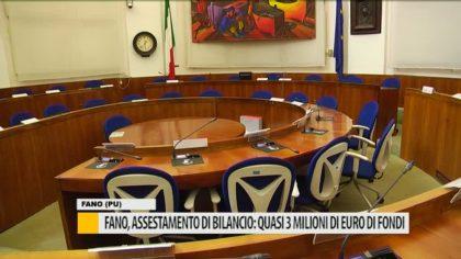 Fano, assestamento di bilancio: quasi 3mln di euro di fondi – VIDEO
