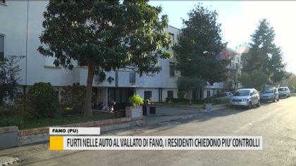 Furti nelle auto al Vallato di Fano, i residenti chiedono più controlli – VIDEO