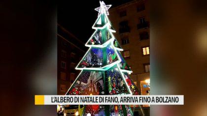 L'Albero di Natale di Fano arriva fino a Bolzano – VIDEO