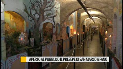 Aperto al pubblico il Presepe di San Marco a Fano – VIDEO