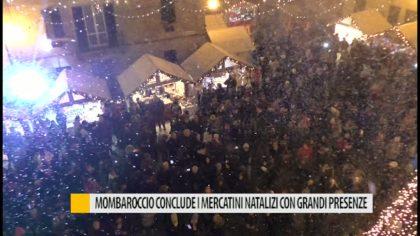 Mombaroccio conclude i mercatini con grandi presenze – VIDEO