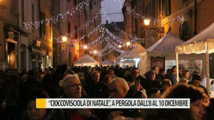 """""""CioccoVisciola di Natale"""", a Pergola dall'8 al 10 dicembre – VIDEO"""