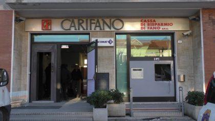 Assalto con gas a cassa bancomat Cuccurano di Fano (foto)