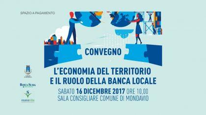 L'economia del territorio e il ruolo della banca locale – Banca Suasa (16 dicembre 2017)