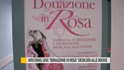 Avis Fano, una 'donazione in rosa' dedicata alle donne – VIDEO