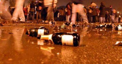 Capodanno a Fano: niente vetro fuori dai locali