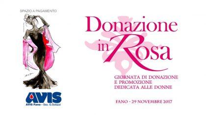 Avis, donazione in rosa