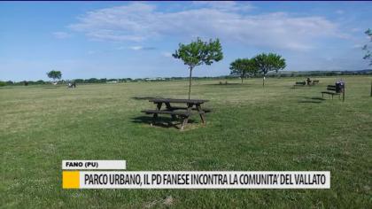 Parco urbano, il PD fanese incontra la comunità del Vallato – VIDEO