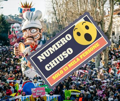 Carnevale di Fano a numero chiuso. Non più di 13mila persone