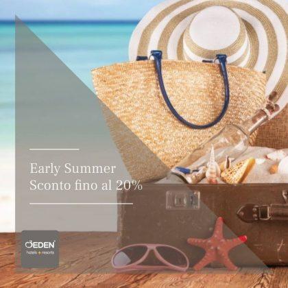 Eden Viaggi presenta Early Summer, per un soggiorno estivo targato Eden Hotels