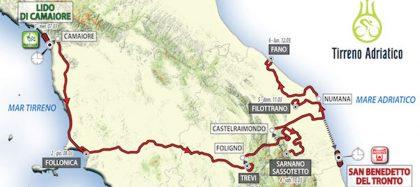 Il grande ciclismo approda a Fano: il 12 marzo la tappa Tirreno-Adriatico