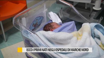 Il primo nato 2018 a Fano Idrizi Omer nato alle 21.14 del 01.01.2018 – VIDEO