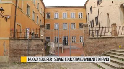 Nuova sede per i servizi educativi e ambiente Fano – VIDEO