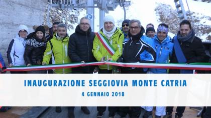 Inaugurazione Seggiovia Monte Catria (4 gennaio 2018)