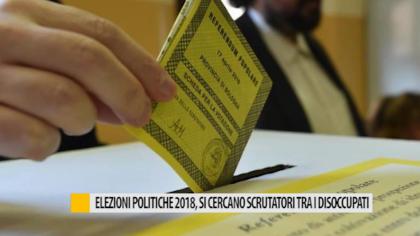 Elezioni politiche 2018, si cercano scrutatori tra i disoccupati – VIDEO