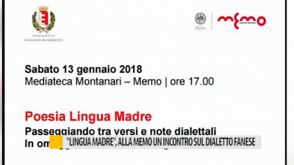 """Poesia in lingua madre"", un incontro sul dialetto fanese – VIDEO"