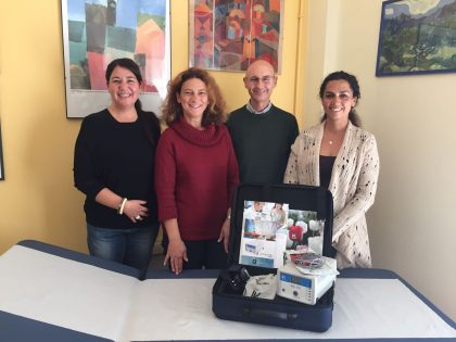 Donazione di un Bioimpedenziometro al Centro Disturbi Alimentari AV1