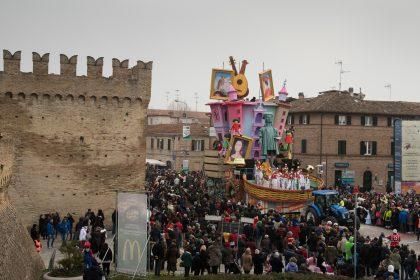 Il programma della seconda sfilata del Carnevale di Fano