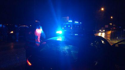 Incidente stradale a Rosciano di Fano. Quattro auto coinvolte (VIDEO)