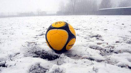 MALTEMPO, sospesi i campionati di calcio regionali