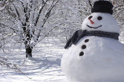 Maltempo, a Fano martedì grasso brucia il Pupo… di neve