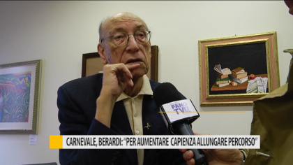 """Carnevale, Berardi: """"Per aumentare capienza allungare il percorso"""" – VIDEO"""