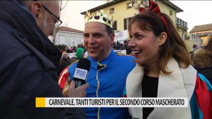 Carnevale, tanti turisti per il secondo corso mascherato – VIDEO