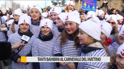 Fano, tanti bambini per il carnevale del mattino – VIDEO
